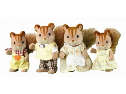 Sylvanian Families 4172 - Rodinka veveričiek