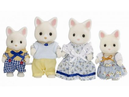 Sylvanian Families 4175 - Rodinka hodvábnych mačiek