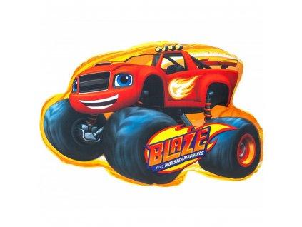 Kids Licensing detský vankúšik Blaze žltý 40 x 28 cm