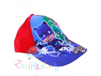 E plus M Šiltovka PJ Masks červená veľ. 52 cm