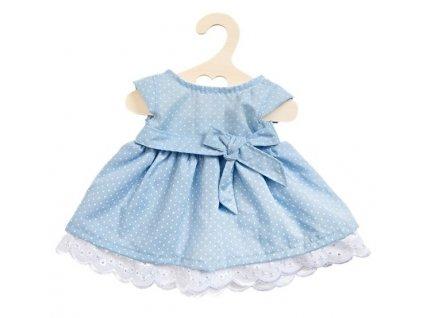 Heless - Letné šaty pre bábiku modré (veľ. 28 - 33 cm)