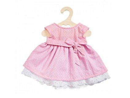 Heless - Letné šaty pre bábiku ružové (veľ. 28 - 33 cm)