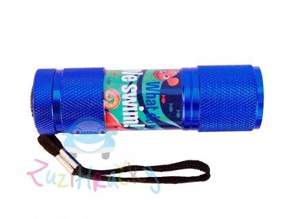 Euroswan LED baterka Hľadá sa Dory - modrá