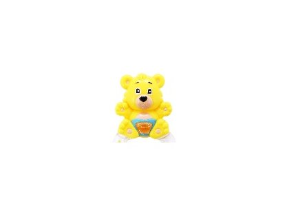 Hrkálka Medveď - žltý