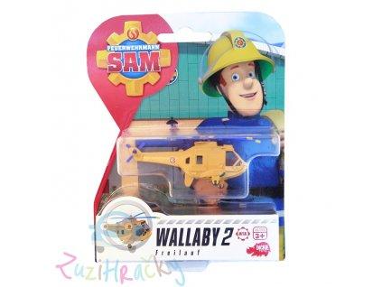 Dickie - Vrtuľník Wallaby 2 ( Požiarnik Sam )