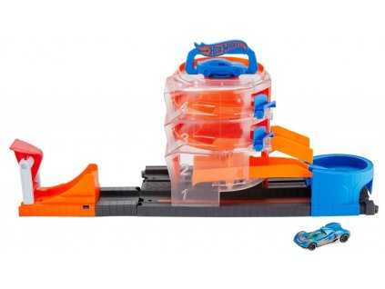 Hot Wheels City superset Superspin