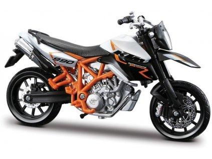 Bburago Motorka KTM 990 Supermoto R 1:18