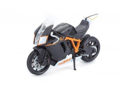 Bburago motorka KTM 1190 RC8 R 1:18