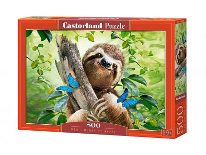 Castorland puzzle Don't hurry Be happy 500 dielikov