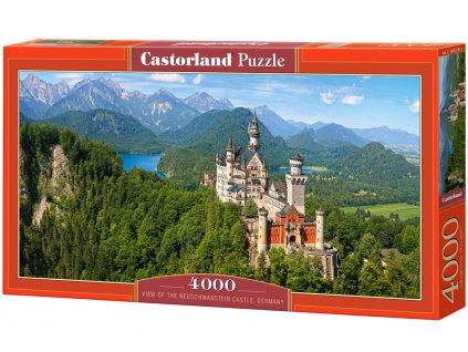 Castorland puzzle - Zámok Neuschwanstein 4000 dielikov