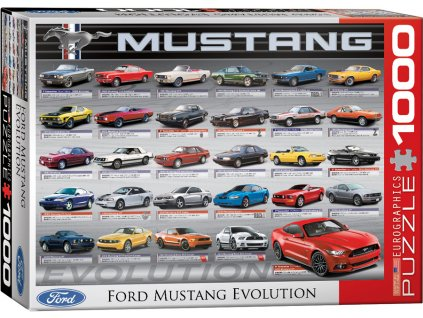 Eurographics puzzle Ford Mustang Evolution 1000 dielikov