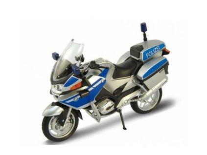 Welly - motorka BMW R 1200 RT policajná verzia