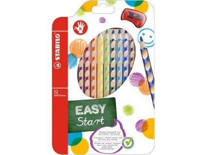 Stabilo EASYcolors farbičky sada 12 ks pre pravákov