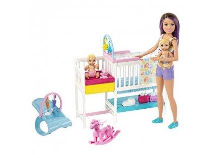 Mattel Barbie - Babysitter (veľký set)