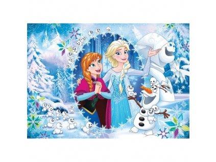 Clementoni doskové puzzle Frozen A - 15 dielikov