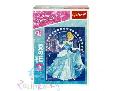 Trefl mini Maxi puzzle Popoluška 20 dielikov