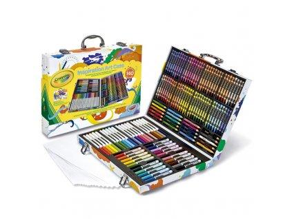 Crayola Kufrík Inspiration Art 140 ks