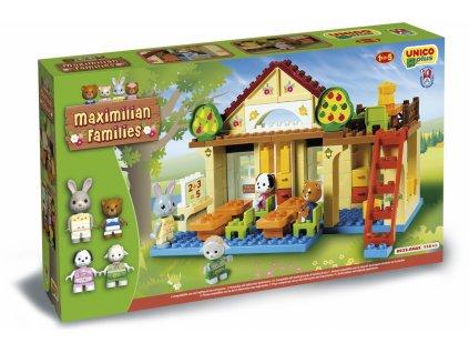 Unico Plus Maximilian Families - Škola 117 dielov