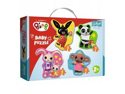 Trefl Baby puzzle Bing sada 4v1