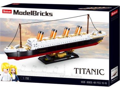 Sluban - Titanic (stredný) M38-B0835
