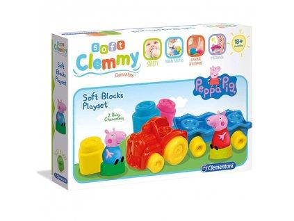 Clementoni Clemmy - Peppa Pig set s vláčikom