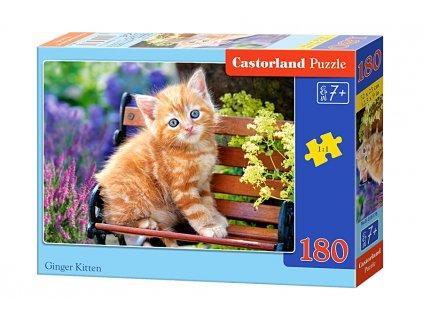 Castorland puzle Ryšavé Mačiatko - 180 dielikov