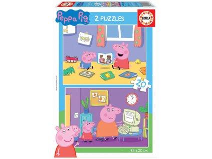 Educa puzzle Peppa Pig 2x20 dielikov