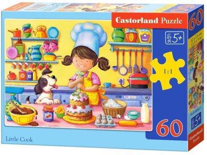 Castorland detské puzzle Malá Kuchárka 60 dielikov