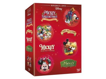 Mickey Mouse - Vianočná Kolekcia 4 DVD