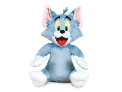 Tom a Jerry: Plyšový Tom 28 cm