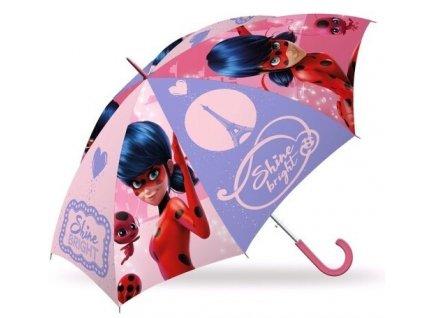 Kids Licensing detský dáždnik Kúzelná Lienka 69 cm ružový