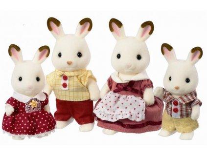 Sylvanian Families 4150 - Rodinka Chocolate králikov