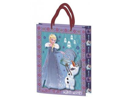 Malá darčeková taška Frozen 18 x 23 cm