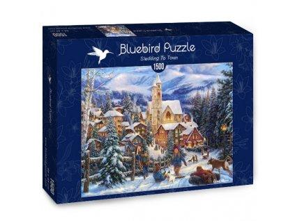 Bluebird puzzle Sánkovačka 1500 dielikov