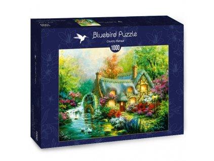Bluebird puzzle Domček na kraji lesa 1000 dielikov