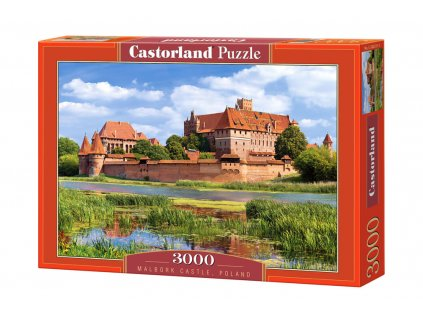 Castorland puzzle Hrad Malbork 3000 dielikov