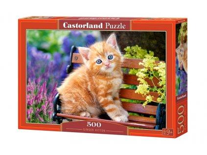 Castorland puzzle Ryšavé Mačiatko 500 dielikov