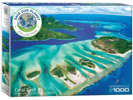 Eurographics puzzle Koralový útes 1000 dielikov