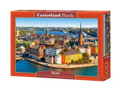Castorland puzzle Štokholm 500 dielikov
