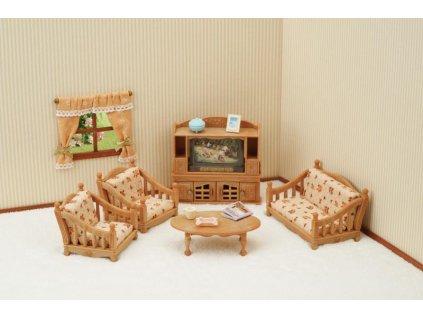 Sylvanian Families 5339 - Obývačka (súprava nábytku)