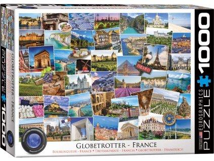 Eurographics puzzle Globetrotter France 1000 dielikov