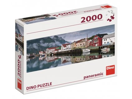 Dino puzzle Rybárska dedina (panoráma) 2000 dielikov