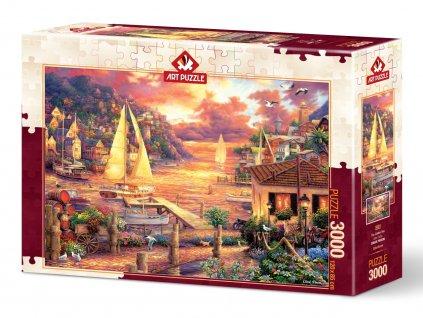 Art Puzzle Golden Sea 3000 dielikov