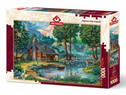 Art Puzzle Rozprávkový domček 1000 dielikov