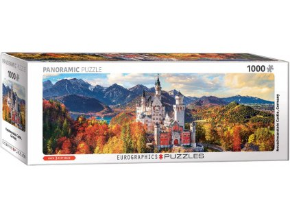 Eurographics puzzle Neuschwanstein na jeseň 1000 dielikov