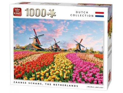 King puzzle Zaanse Schans, Holandsko 1000 dielikov