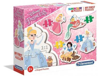 Clementoni My First Puzzles - Disney Princezné 4v1