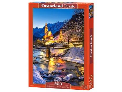 Castorland puzzle Noc v Ramsau 500 dielikov