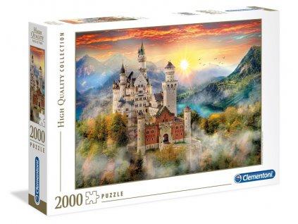 Clementoni puzzle Neuschwanstein 2000 dielikov