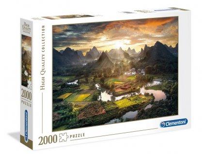 Clementoni puzzle Čína 2000 dielikov